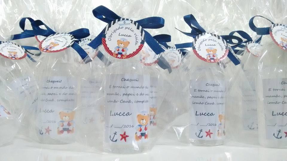Álcool gel com rótulo exclusivo e personalizado